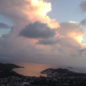 T-storm Aug in  the virgin islands