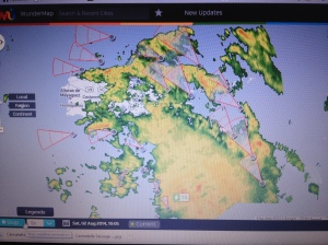 Tropical Storm Bertha August 02 2014 St Thomas Virgin Islands