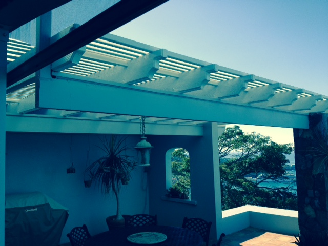Pergola Project Completed!