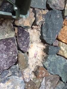 patching loose rocks 04